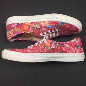 caa78db781 Vans Shoes - Vans Floral Liberty Art Fabrics Era Pink Flowers